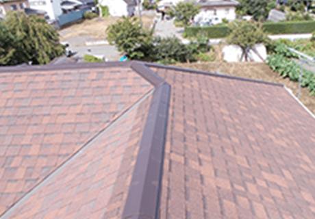 屋根が美しくなる