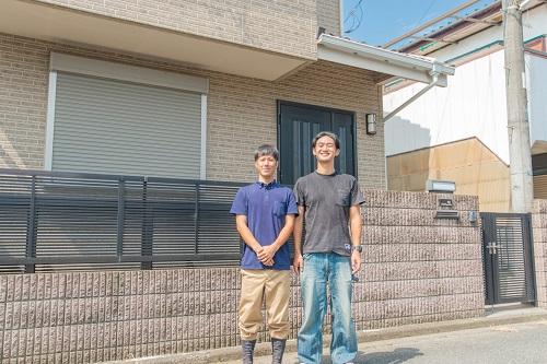 屋根塗装、棟鈑金交換、外壁塗装 川崎市麻生区 N様