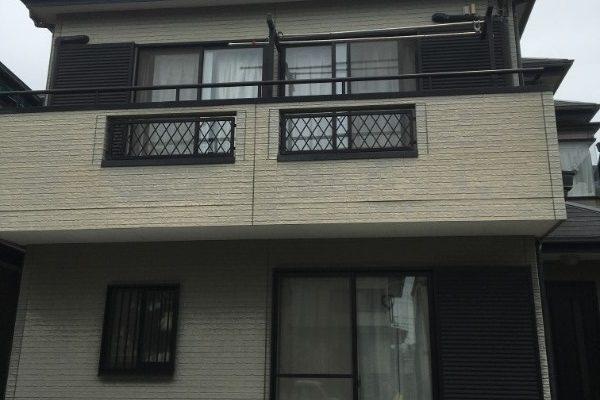 ベランダFRP防水工事、屋根カバー工事、外壁塗装、庇補修工事 川崎市宮前区