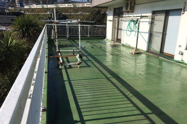 川崎市中原区 K様邸 バルコニー防水塗装
