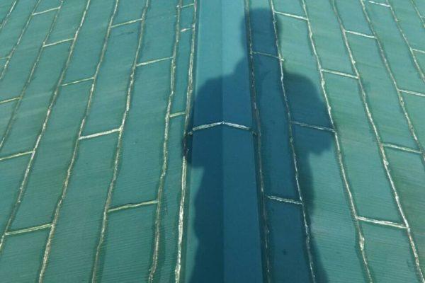 屋根カバー工法 ケイミュー スマートメタル SGL屋根 川崎市宮前区 K様