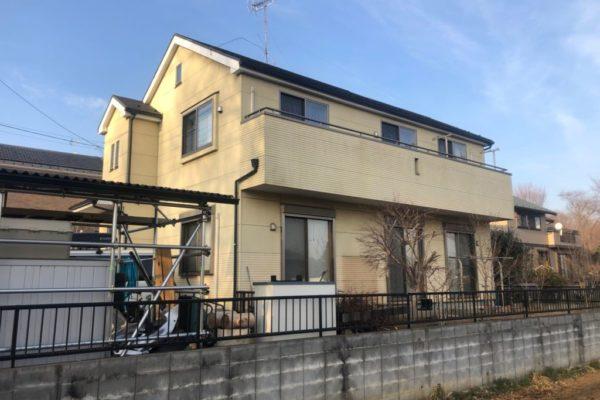 川崎市宮前区 屋根カバー工事 外壁塗装 横断ルーフS ナノコンポジット