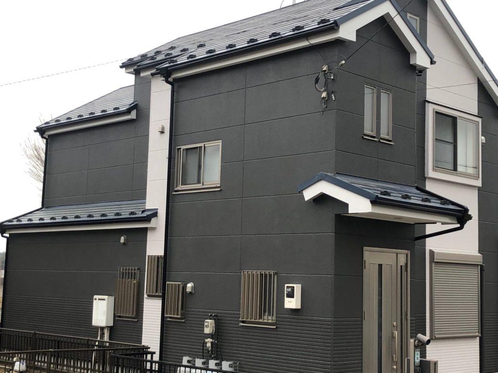 屋根カバー外壁塗装