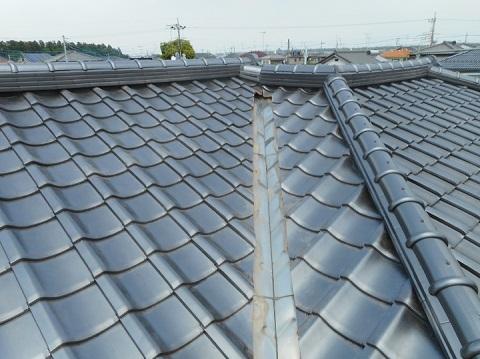 神奈川県川崎市 瓦屋根の葺き替え工事